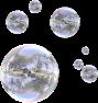 clear bubbles